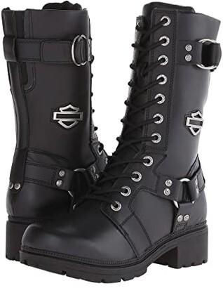 Harley-Davidson Eda (Black) Women's Lace-up Boots