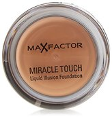 Max Factor Miracle Touch Liquid Illusion Foundation, No. 85 Caramel