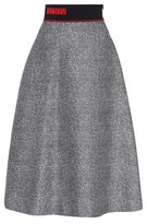 Fendi Knitted wool and silk skirt