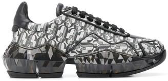 Jimmy Choo Diamond monogram sneakers