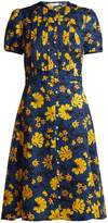 Altuzarra Madelena floral-print silk-jacquard midi dress