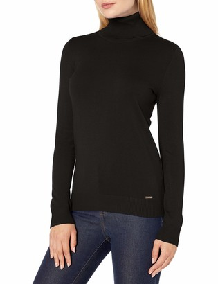 Calvin Klein Women's Solid Turtleneck Pullover Sweater