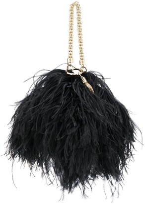 Jimmy Choo Callie feather bag