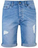 Burton Burton Hyper Blue Stretch Rip Denim Shorts