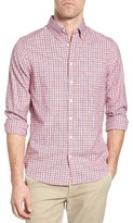 Gant Men's Windblown Oxford Check Fitted Sport Shirt