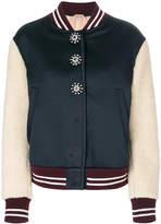 No.21 varsity bomber jacket