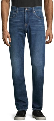 7 For All Mankind Slim-Fit Faded Jeans