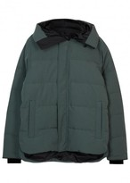 Canada Goose Macmillan Green Quilted Jacket