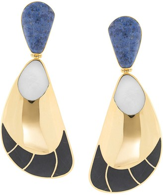 Monica Sordo Garzon clip earrings