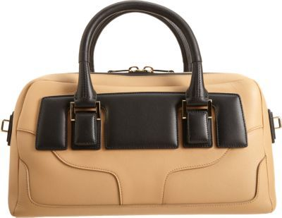 Narciso Rodriguez Two-Tone Bauletto Bag