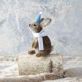 Bottle Brush Ornament - Bunny