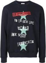 Valentino sweatshirt with Jamie Reid print and stars
