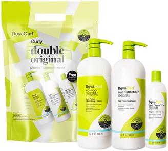 DevaCurl Double Original Cleanse & Condition Jumbo Set