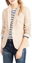 J.Crew Women's Campbell Linen Blazer