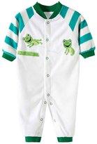 Happy Cherry Baby Footless Romper Newborn Pajamas Fleece Bodysuit Snug Fit Sleepwear Snap Up Winter Layette Coveralls Sleep & Play Outfit Jumpsuit