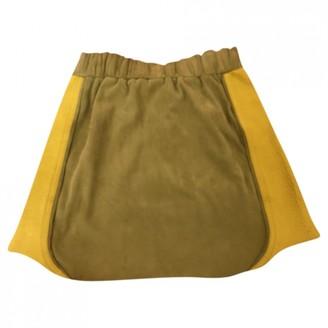 Heimstone Multicolour Leather Skirts