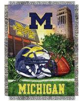 NCAA Michigan Wolverines Home Field Advantage College Throw