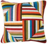Jonathan Adler Multi Windmill Bargello Decorative Pillow, 20 x 20