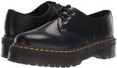 Dr. Martens 1461 Quad Platform (Black) Shoes