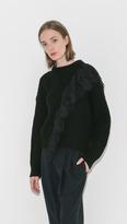 Oversize Sweater w/Lace