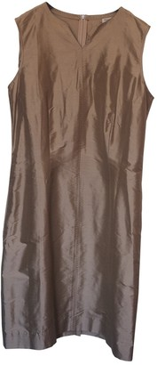Henry Cotton Beige Silk Dress for Women