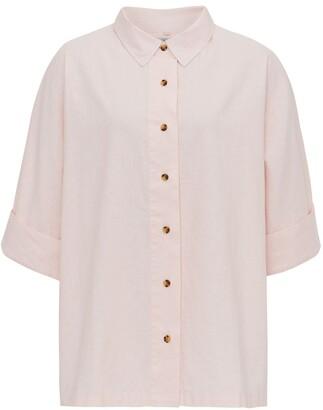 Komodo Kimono Shirt - Sea Pink