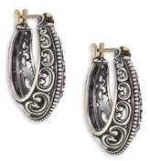 Konstantino Penelope Sterling Silver Filigree Hoop Earrings/1""
