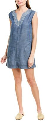 Trina Turk Shelby Linen-Blend Mini Dress