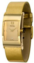 Moog Paris - Dome - Women's Watch with dial, strap in genuine leather - Interchangeable strap - Made in France - M41661-003