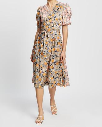 NEVER FULLY DRESSED Zsa Zsa Spliced Dress