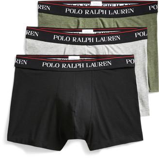 Ralph Lauren Stretch-Cotton Trunk 3-Pack