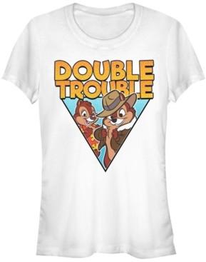 Fifth Sun Women's Chip Dale Buddy Tee L Short Sleeve T-shirt