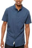 Lee Short-Sleeve Stretch Print Shirt - Big & Tall