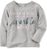Carter's Dream Big Sparkle-Print T-Shirt, Little Girls (2-6X), Big Girls (7-16)