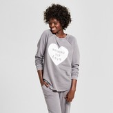 Xhilaration Women's Nothing But Love Pullover Sweatshirt
