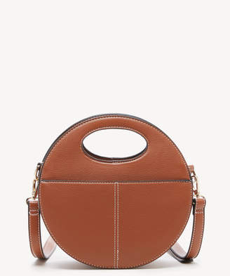 Sole Society Women's Jane Crossbody Bag Faux Leather Cognac From