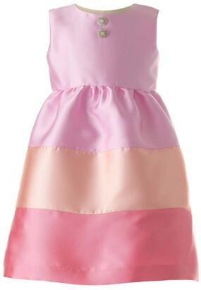 Rachel Riley Candy Stripe Party Dress (6-24 Months)