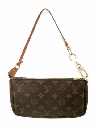 Louis Vuitton Monogram Pochette Accessoires Brown