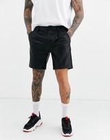 Asos Design DESIGN slim shorts in faux leather