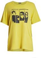 R 13 Velvet Underground Graphic T-Shirt