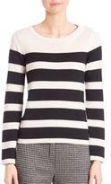 Max Mara Horizontal Stripe Sweater