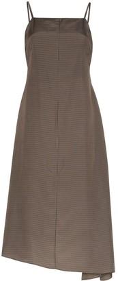 ASAI Checked Maxi Dress