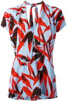Marni patterned top - women - Viscose - 40