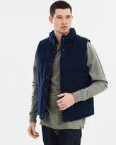 Denham Jeans Cheater Indigo Quilt Vest
