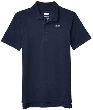 Levi's Kids Short Sleeve Polo Shirt (Big Kids) (Dress Blues) Boy's Clothing