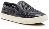 Tory Burch Woven Huarache Slip On Sneakers