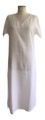 Gianfranco Ferre White Linen Dresses