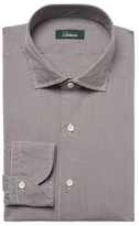 Lubiam Cotton Checkered Dress Shirt