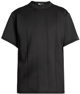 Y-3 Spacer Panelled Crew-neck T-shirt