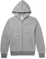 Balenciaga - Fleece-back Cotton-jersey Zip-up Hoodie
